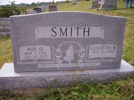 SMITH, LUCRETIA M. - Meigs County, Ohio | LUCRETIA M. SMITH - Ohio Gravestone Photos