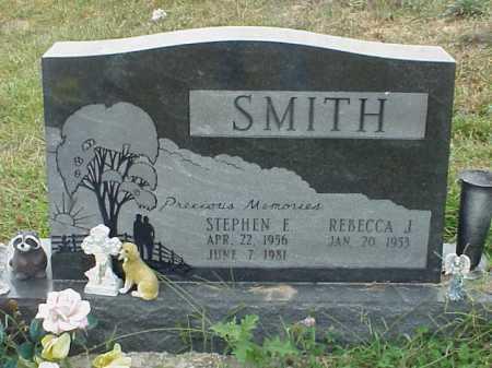 SMITH, REBECCA J. - Meigs County, Ohio | REBECCA J. SMITH - Ohio Gravestone Photos