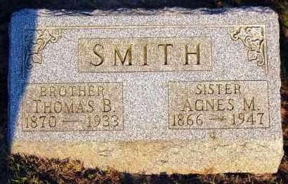 SMITH, THOMAS B. - Meigs County, Ohio | THOMAS B. SMITH - Ohio Gravestone Photos