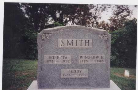 SMITH, ROSETTA - Meigs County, Ohio | ROSETTA SMITH - Ohio Gravestone Photos