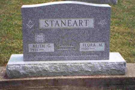 STANEART, KEITH G. - Meigs County, Ohio   KEITH G. STANEART - Ohio Gravestone Photos