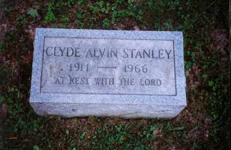 STANLEY, CLYDE ALVIN - Meigs County, Ohio   CLYDE ALVIN STANLEY - Ohio Gravestone Photos
