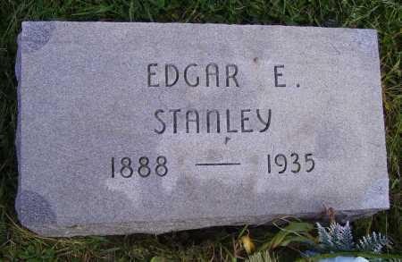 STANLEY, EDGAR E - Meigs County, Ohio | EDGAR E STANLEY - Ohio Gravestone Photos