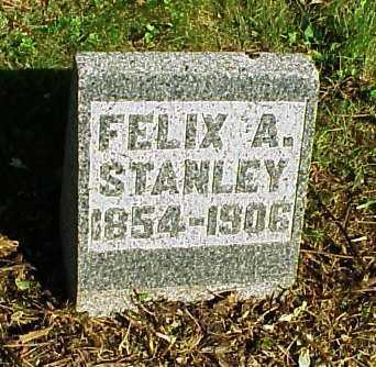 STANLEY, FELIX A. - Meigs County, Ohio   FELIX A. STANLEY - Ohio Gravestone Photos