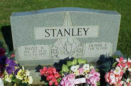 STANLEY, DUANE F. - Meigs County, Ohio | DUANE F. STANLEY - Ohio Gravestone Photos