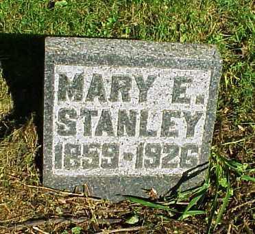 SAPP STANLEY, MARY E. - Meigs County, Ohio | MARY E. SAPP STANLEY - Ohio Gravestone Photos