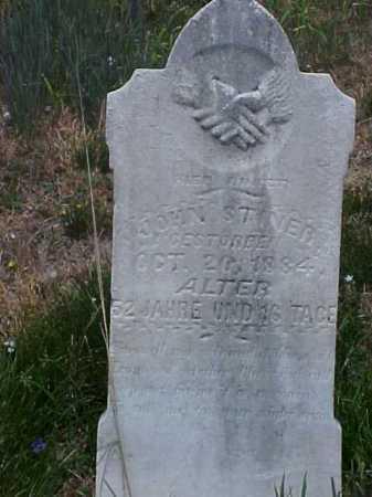 STINER, JOHN - Meigs County, Ohio   JOHN STINER - Ohio Gravestone Photos