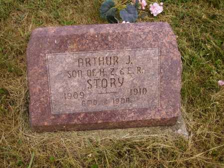 STORY, ARTHUR J. - Meigs County, Ohio | ARTHUR J. STORY - Ohio Gravestone Photos