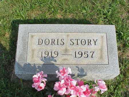 STORY, DORIS - Meigs County, Ohio | DORIS STORY - Ohio Gravestone Photos