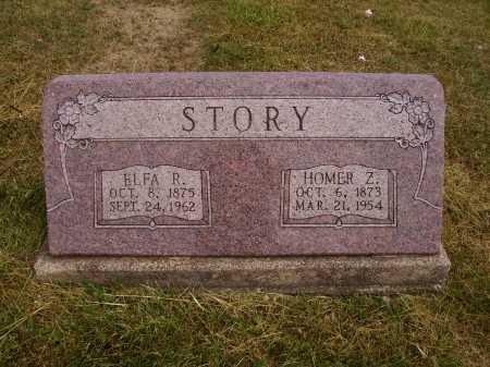 SLOAN STORY, ELFA R. - Meigs County, Ohio | ELFA R. SLOAN STORY - Ohio Gravestone Photos