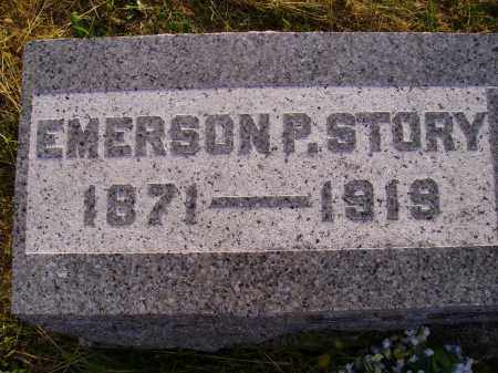STORY, EMERSON P. - Meigs County, Ohio   EMERSON P. STORY - Ohio Gravestone Photos