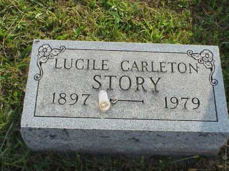 STORY, LUCILE - Meigs County, Ohio | LUCILE STORY - Ohio Gravestone Photos