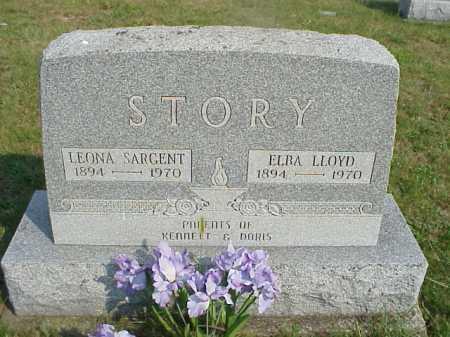 SARGENT STORY, LEONA S. - Meigs County, Ohio | LEONA S. SARGENT STORY - Ohio Gravestone Photos