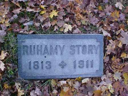 STORY, RUHAMY - Meigs County, Ohio | RUHAMY STORY - Ohio Gravestone Photos