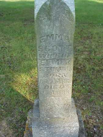 SCOTT STOUT, EMMA - Meigs County, Ohio | EMMA SCOTT STOUT - Ohio Gravestone Photos