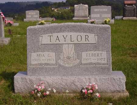 TAYLOR, ELBERT - Meigs County, Ohio   ELBERT TAYLOR - Ohio Gravestone Photos