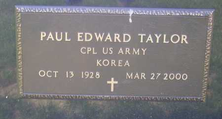 TAYLOR, PAUL EDWARD - Meigs County, Ohio   PAUL EDWARD TAYLOR - Ohio Gravestone Photos
