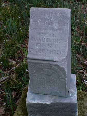 UNKNOWN, INFANT - Meigs County, Ohio | INFANT UNKNOWN - Ohio Gravestone Photos