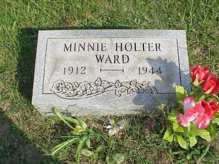 WARD, MINNIE - Meigs County, Ohio   MINNIE WARD - Ohio Gravestone Photos