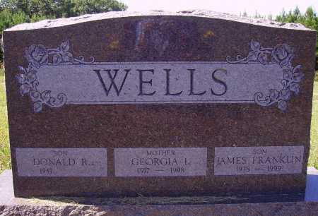 WELLS, GEORGIA I. - Meigs County, Ohio | GEORGIA I. WELLS - Ohio Gravestone Photos