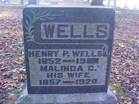 WELLS, HENRY P. - Meigs County, Ohio   HENRY P. WELLS - Ohio Gravestone Photos