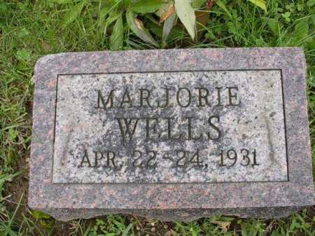WELLS, MARJORIE - Meigs County, Ohio | MARJORIE WELLS - Ohio Gravestone Photos