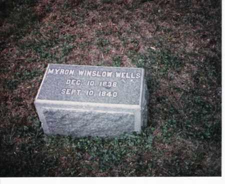 WELLS, MYRON - Meigs County, Ohio | MYRON WELLS - Ohio Gravestone Photos