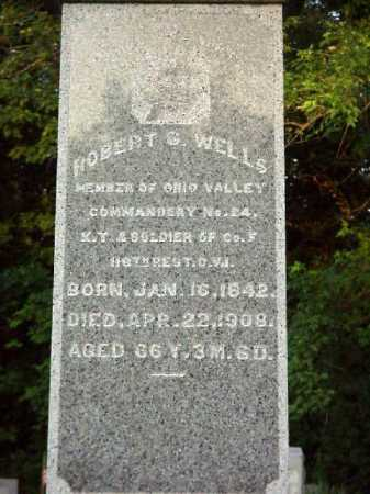 WELLS, ROBERT G. - CLOSEVIEW - Meigs County, Ohio   ROBERT G. - CLOSEVIEW WELLS - Ohio Gravestone Photos