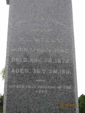 WELLS, SAMANTHA - Meigs County, Ohio | SAMANTHA WELLS - Ohio Gravestone Photos