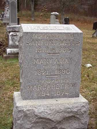 WELLS, MARY A. - Meigs County, Ohio | MARY A. WELLS - Ohio Gravestone Photos