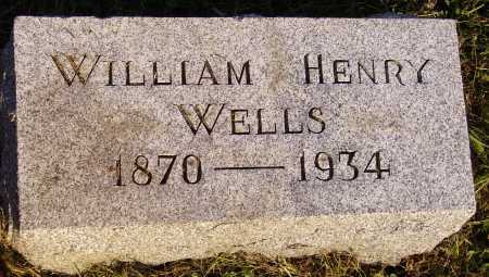 WELLS, WILLIAM HENRY - Meigs County, Ohio | WILLIAM HENRY WELLS - Ohio Gravestone Photos