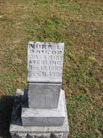 WERLING, NORA - Meigs County, Ohio   NORA WERLING - Ohio Gravestone Photos