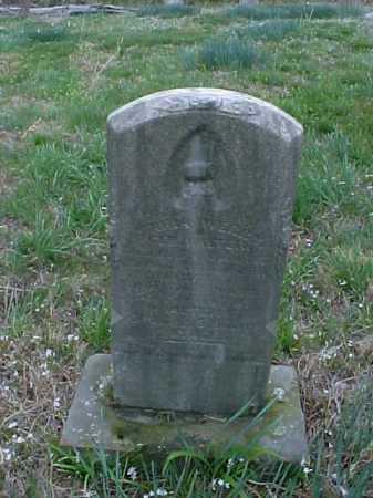 WERRY, MARIA - Meigs County, Ohio | MARIA WERRY - Ohio Gravestone Photos