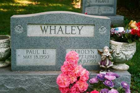 WHALEY, CAROLYN - Meigs County, Ohio | CAROLYN WHALEY - Ohio Gravestone Photos
