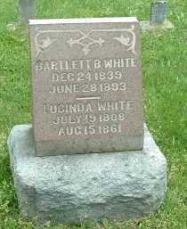 WHITE, BARTLETT B. - Meigs County, Ohio | BARTLETT B. WHITE - Ohio Gravestone Photos