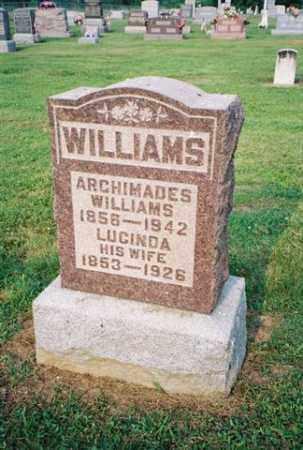 WILLIAMS, LUCINDA - Meigs County, Ohio | LUCINDA WILLIAMS - Ohio Gravestone Photos