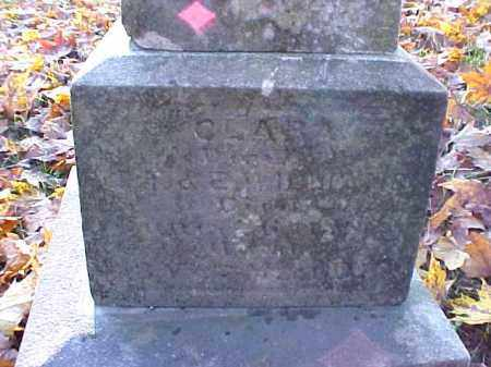 WILLIAMS, CLARA - Meigs County, Ohio | CLARA WILLIAMS - Ohio Gravestone Photos