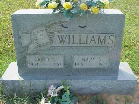 WILLIAMS, DAVID L. - Meigs County, Ohio | DAVID L. WILLIAMS - Ohio Gravestone Photos