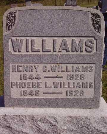WILLIAMS, HENRY C. - Meigs County, Ohio | HENRY C. WILLIAMS - Ohio Gravestone Photos