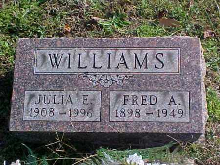 WILLIAMS, JULIA E. - Meigs County, Ohio | JULIA E. WILLIAMS - Ohio Gravestone Photos