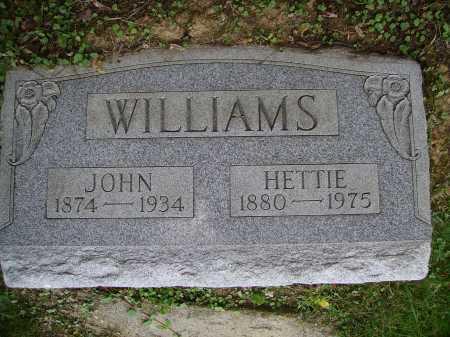 WILLIAMS, HETTIE - Meigs County, Ohio | HETTIE WILLIAMS - Ohio Gravestone Photos