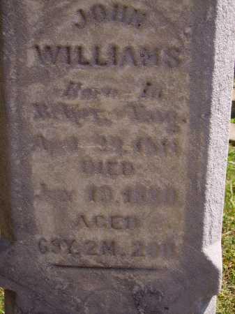 WILLIAMS, JOHN - CLOSEVIEW - Meigs County, Ohio | JOHN - CLOSEVIEW WILLIAMS - Ohio Gravestone Photos