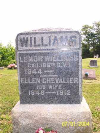 CHEVALIER WILLIAMS, ELLEN - Meigs County, Ohio | ELLEN CHEVALIER WILLIAMS - Ohio Gravestone Photos