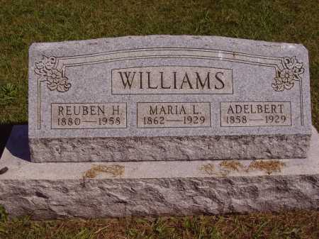 SAXTON WILLIAMS, MARIA LOUSIA - Meigs County, Ohio | MARIA LOUSIA SAXTON WILLIAMS - Ohio Gravestone Photos