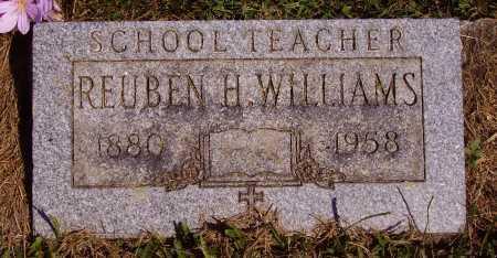WILLIAMS, REUBEN H. - Meigs County, Ohio | REUBEN H. WILLIAMS - Ohio Gravestone Photos