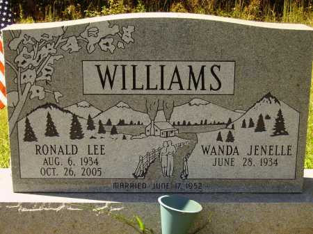 WILLIAMS, RONALD LEE - FRONT - Meigs County, Ohio | RONALD LEE - FRONT WILLIAMS - Ohio Gravestone Photos