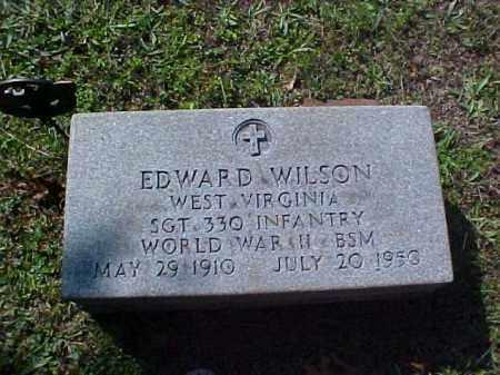 WILSON, EDWARD - Meigs County, Ohio   EDWARD WILSON - Ohio Gravestone Photos