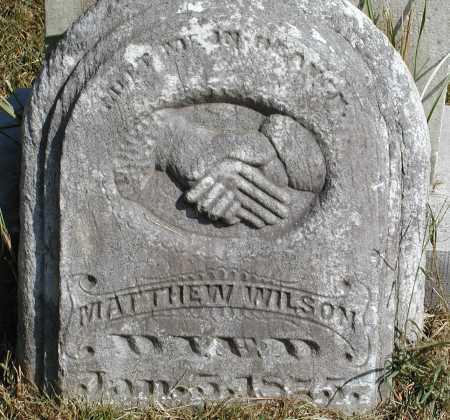WILSON, MATTHEW - Meigs County, Ohio   MATTHEW WILSON - Ohio Gravestone Photos