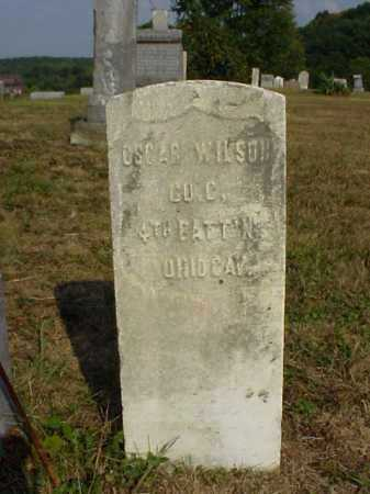 WILSON, OSCAR - Meigs County, Ohio   OSCAR WILSON - Ohio Gravestone Photos