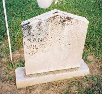 WILSON, NANCY - Meigs County, Ohio | NANCY WILSON - Ohio Gravestone Photos